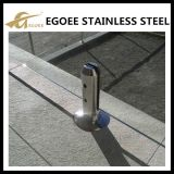 Broche en verre en verre de frontière de sécurité d'acier inoxydable