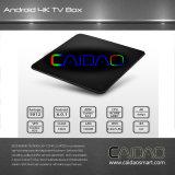 Android7.1 Caidao intelligenter Fernsehapparat-Kasten Amlogic S912 Octa Kern Fernsehapparat-Kasten 2g/16g LAN 4k WiFi Dlna Kod17.1