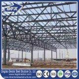 La maggior parte della struttura di costruzione prefabbricata qualificata del tetto d'acciaio per la serra con parcheggio dell'automobile