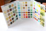 Carte de couleur de peinture extérieure à la texture spéciale
