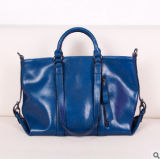 Neue Entwurfs-Öl-Wachs-Leder-Dame Handbag Simple Ol Style