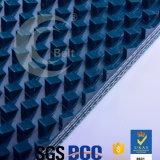 correia transportadora do PVC de 12.5mm para lustrar a correia de mármore em dois sentidos