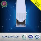 Cubierta plástica de la cubierta T5 T8 del tubo del LED
