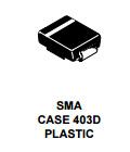 Rectificador de la potencia de Schottky del montaje de la superficie del diodo del componente electrónico