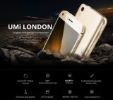 Ásperos originais Anti-Caem ouro esperto do telefone do telefone móvel da ROM do RAM 8GB 8.0MP 2050mAh 1GB do núcleo 5.0 do quadrilátero do Android 6.0 de Umi Londres 3G Smartphone Mtk6580 de ""