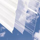 Lamiera ondulata policarbonato per illuminazione e la serra del tetto