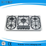Comitato 5burner Cooktop di S/S con Ce