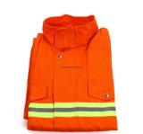 Youtong Textilrote Farben-Schweißens-Kleidungs-Gewebe-feuerfestes Gewebe/flammhemmendes Gewebe