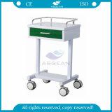 AG-GS007 avec un chariot puissant général d'épicerie de petit tiroir