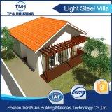 2개의 침실 작은 정원을%s 가진 Prefabricated 강철 별장 집