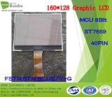 écran LCD graphique de 160X128 MCU, St7669, 40pin pour la position, sonnette, médicale, véhicules
