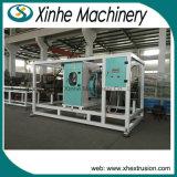 160-400 linha linha da extrusão da tubulação do PVC do Gêmeo-Parafuso do milímetro de produção da tubulação de /PVC da extrusora da tubulação de /CPVC