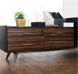 유행 디자인 가죽 나무로 되는 책상 (V29A)