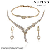 63285 het Geplateerde die Huwelijk van de Juwelen van de Manier van de luxe 14k Goud met Diamant wordt geplaatst