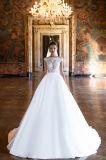 Kara линия разнослоистые платья венчания с Fishbone