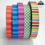 Logotipo personalizado Jacquard Woven Nylon Polyester Ribbon for Bags