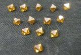 O diamante sintético da forma do Octahedron para o aparelhador utiliza ferramentas o único diamante do Synthetic do ponto