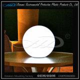 Decoração plástica moldando rotatória material da iluminação do diodo emissor de luz do PE