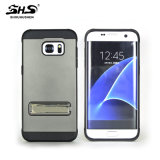 Cassa placcante del telefono mobile per Samsung J7 con la funzione del basamento