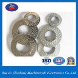 Rondelle de freinage latérale simple de rondelles d'acier inoxydable de rondelle de dent de foudre d'ODM&OEM Nfe25511