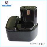 батарея 12V 3.0ah Ni-MH; Батарея електричюеского инструмента для Хитачи Eb1214s