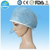 no tejido pp desechable gorra azul médico