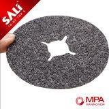 Disco de pulido de la fibra del metal y de las lanas del carburo de silicio de la alta calidad