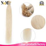 Pelo humano del pelo de la queratina de Neitsi U de la extremidad de la queratina de la fusión caliente italiana original del pelo