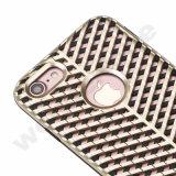 Caja plástica delgada estupenda del teléfono celular del diseño de la unidad para el iPhone 7 más