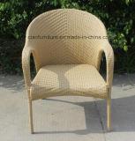屋外の藤のスタック可能椅子の高品質のローディング