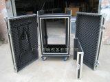 Gabinete de madera contrachapada anti-choque 16u para sonido