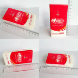 El tejido pañuelo de bolsillo servilleta de papel que hace la máquina