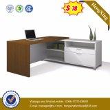 Mobilier de bureau en mélamine en bois pour ordinateur Shape en ligne (HX-5N398)