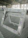 Ventana exterior colgada doble del marco de la concha 60 con la ventana fija de la parte inferior