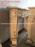 Каминная доска камина рабата белая мраморный в штоке (SY-MFP12312)