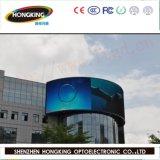 높은 광도를 가진 P10 투명한 발광 다이오드 표시 (LED 스크린)