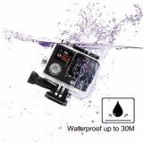 """超処置のカメラ4k HD 2.0 """"二重スクリーンの処置のカメラの防水カム"""