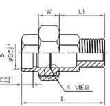 Sw-M соединения штуцера трубы нержавеющей стали