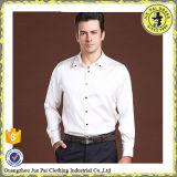 Fabrica a hombres de seda llanos de moda de la camisa del satén de China