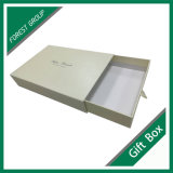 贅沢なデザインギフトのリボンが付いている包装のペーパー引出しボックス