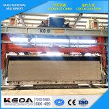 Linha de produção ventilada esterilizada linha do bloco de cimento AAC planta da máquina do tijolo de AAC de AAC