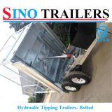 2016 de Goedkope Tippende Aanhangwagen van het Aluminium van de Prijs voor Verkoop