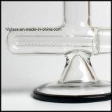 수관 18.8mm 합동 크기 검정에 있는 인라인 Perc로 연기가 나는 유리 새로운 13.5 인치