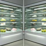 Angle vertical de 0 à 5 degrés Montage sur gâteau blanc en marbre Réfrigérateur