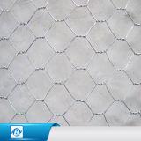 六角形の金網の網、Gabionの網