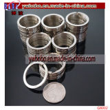 Regalo spaccato di natale di alta qualità degli anelli del supporto chiave del metallo (G8002)