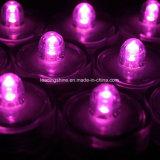 LED 형성된 초 꽃이 잠수할 수 있는 방수 수요일 Xmas 장식 화병 차에 의하여 점화한다