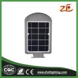 4W todo en una luz de calle solar