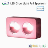 Energy-Saving 2 * 200W LED Grow Light avec le design breveté COB + Reflector