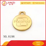 Heiße Entwurfs-Form passen hängende helle Goldfirmenzeichen-Metallfirmenzeichen-Platte mit Funktionseigenschaft-Art-Firmenzeichen an